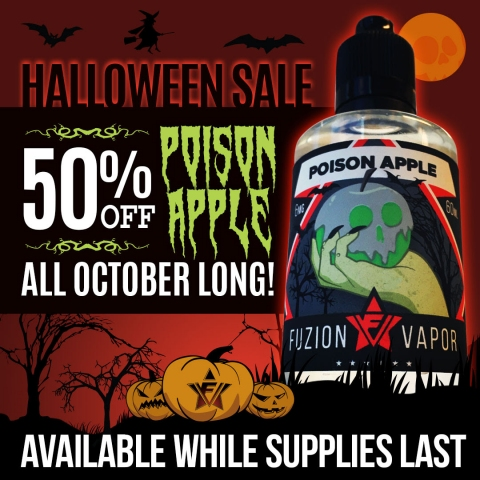 Poison Apple 50% off